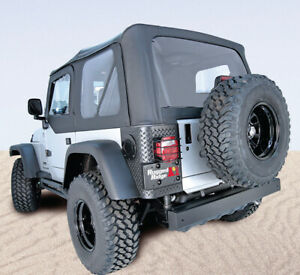 Soft Top Black Diamond Xhd Tinted Window For Jeep Wrangler Unlimited Lj 13731 35