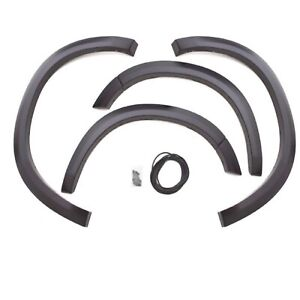 Lund Sx203s Frontrear Elite Black Smooth Sport Style Fender Flare For Ram 1500 Fits 2004 Dodge Ram 1500