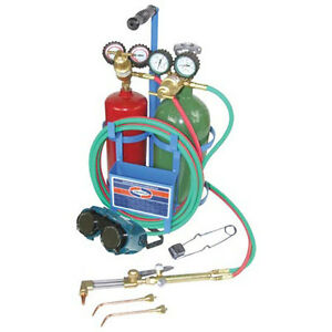 Ez flo 42230 Uniweld Oxyacetylene Welding Brazing And Cutting Kit Without Tanks