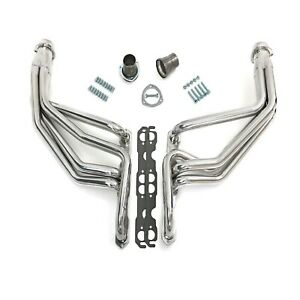 Hedman Hedders 69096 Htc Coated Steel 1 5 8 Exhaust Headers For Chevy