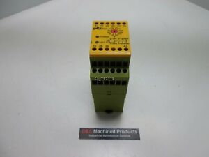 Pilz Pza300 24vdc Safe Timer Relay Delay on Energisation 30 300s 24vdc