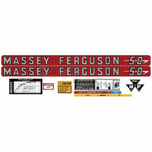 60400 New Decal Kit Made To Fit Massey Ferguson Mf Tractor 50