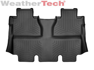 Weathertech Floorliner For Toyota Tundra Crewmax 2014 2019 2nd Row Black