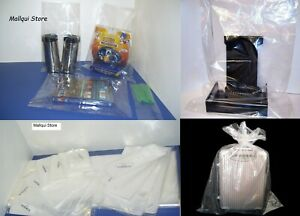 100 Clear 9 X 12 Poly Bags Lay Flat Open Top Plastic Packing Uline Best 1 Mil