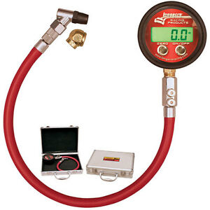 Longacre Pro Deluxe Digital Tire Pressure Gauge 0 60 Psi 53000 Angle