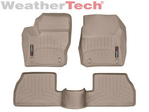 Weathertech Floor Mats Floorliner Ford Focus 2012 2016 Tan