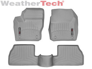 Weathertech Floor Mats Floorliner Ford Focus 2012 2016 Grey