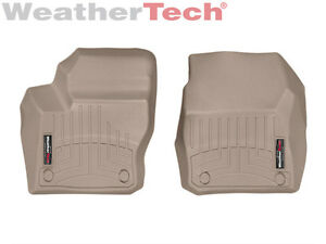 Weathertech Floor Mats Floorliner Ford Focus 2012 2016 1st Row Tan