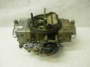 Ford 4781 Holley Carburetor 850 Cfm Electric Choke Double Pumper Carb Mustang