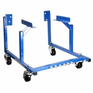 New Engine Cradle Stand Ford With Wheels 1000lb Dolly Mover