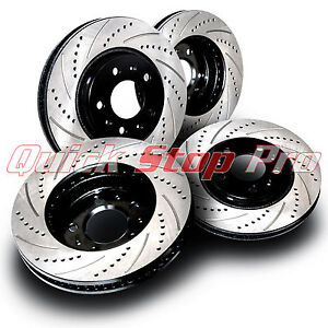 For042s Mustang Cobra Mach 1 Bullitt Performance Rotors Set 94 04 Drill Curve
