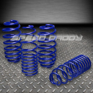 1 25 Drop Suspension Lowering Springs Spring 06 12 Vw Golf Rabbit S Tdi R Blue