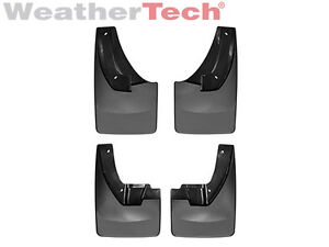 Weathertech No Drill Mudflaps For Ram 1500 2500 3500 2010 2018 Front Rear Set