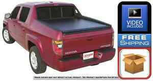 Access Original 16019 Roll Up Tonneau Cover For Honda Ridgeline 4 door 60 Bed