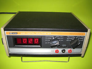 Vintage Dynascan Bk Precision 283 Digital Multimeter