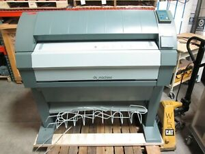Oce 9400 Laser Plotter 36 Media Width 10ft min 120vac 15a 64mb for Parts Only