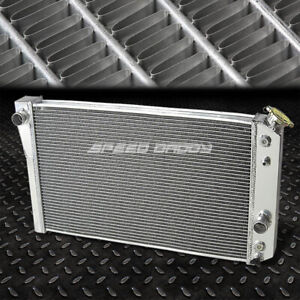 3 Row Core Aluminum Racing Radiator 84 90 Chevy Corvette 5 7l L83 Zr 1 S10 V8