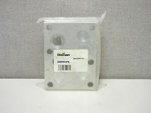 Daman Ad08cps New Alluminum 3000 Psi Circuit Cover Plate With Ports Ad08cps