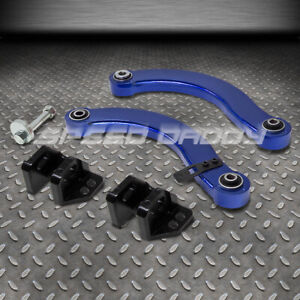 Adjustable Rear Upper Camber Control Arm Suspension Kit 06 11 Civic Fd Fg Blue