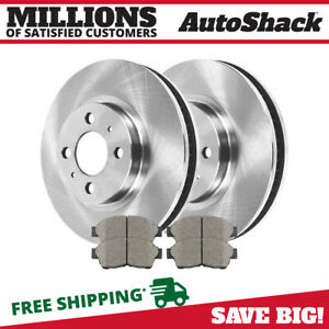 Front Rotors And Ceramic Pads For 1993 1995 1996 1997 Geo Prizm Toyota Corolla