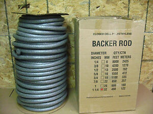Closed Cell Polyethylene Back Rod 1 1 4 X 400 d 1