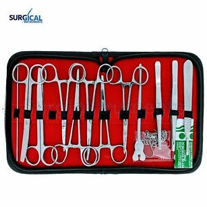 24 Us Military Field Style Medic Instrument Kit Medical Surgical Nurse Doctor