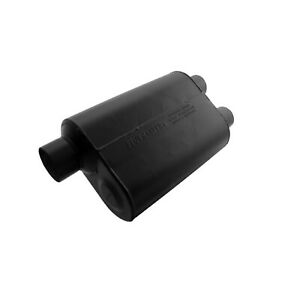 Flowmaster 9530462 Universal Super 40 Series Muffler 3 Offset In 2 5 Dual Out