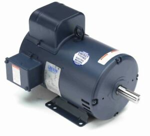 7 5 Hp 3450 Rpm 184t 208 230v Leeson Electric Motor 132044 new free Shipping