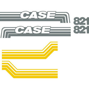 New Case Wheel Loader 821 Decal Set