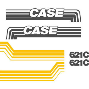 New Case Wheel Loader 621c Decal Set