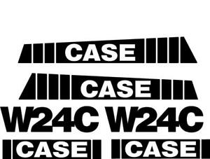 New Case Wheel Loader W24c Decal Set