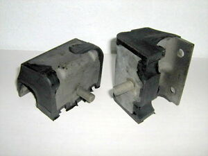 Ford Motor Mounts New Pair 1959 62 292 312 352 390 Pbe6038a C2sz6038a Made Usa