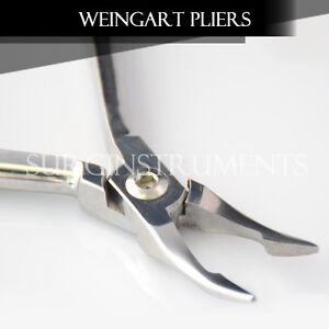 12 Weingart Plier Pliers Orthodontic Instruments Instrument Set