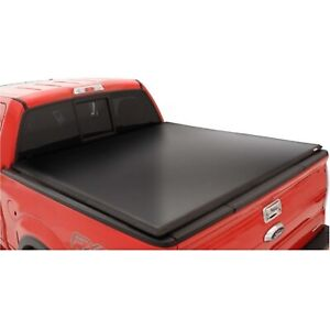 Lund 95064 Black Vinyl Tri fold Tonneau Cover For Dodge ram 6 5 Ft Bed