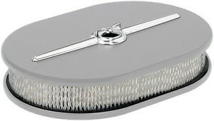 Billet Specialties Streamline Ready To Finish Aluminum Air Cleaner small Oval