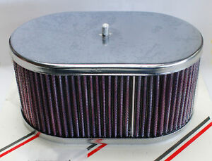 Weber 40dcoe 45dcoe 48dcoe Chrome Air Filter Assembly 3 1 4 Tall