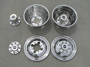 16 01 07 Chevy Silverado Gmc Sierra 3500 Dually Wheel Covers