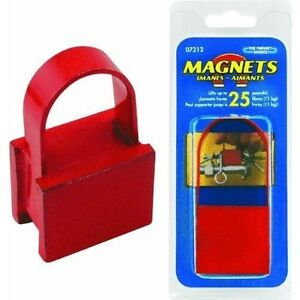 New Master Magnetic 7212 25lb Lift Magnet With Handle 9060286