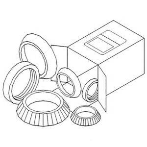 Wbkca3 New Wheel Bearing Kit Made For Case ih Tractor Models 480c 480d 480e