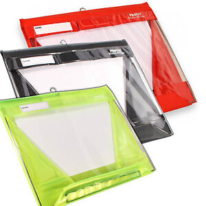 Stormwriter A4 Landscape Waterproof Clipboard In Red Black Or High Vis Yellow