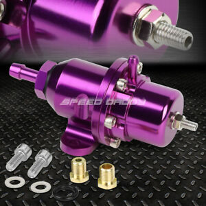 For Honda Acura B16 B18 F20 Bolt On Adjustable Fuel Pressure Regulator Purple