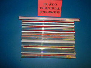 Lot Of 10 Assorted Pyrex Duran Redline Gage Glass 5 8 625 Outer Diameter