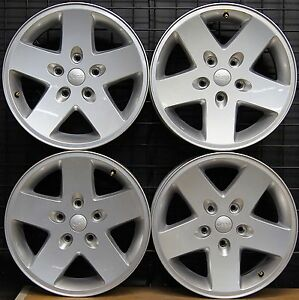 New Jeep Wrangler Sport 17 Factory Oem Wheels Rims 2007 16 9074 Free Shipping