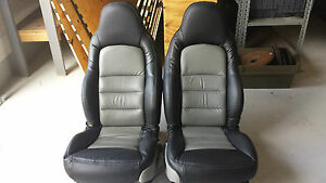 2005 2013 C6 Seats Pair Lh Power Rh Power With Tracks Used Corvette