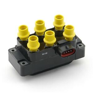 Accel 140035 Yellow Coil Pack Ignition Coil