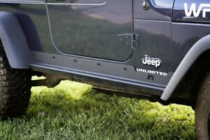 Rock Slider Rocker Guards For Jeep Wrangler Lj Unlimited 2004 2006 Heavy Duty