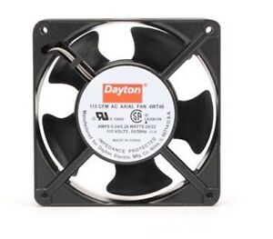 Dayton Axial Fan 115 Volts Ac 20 Watts 115 Cfm Model 4wt46