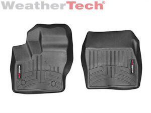 Weathertech Floorliner Mat For Ford Transit Connect 2014 2019 1st Row In Black