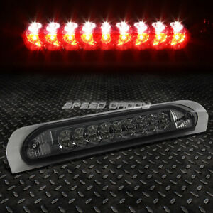 For 02 09 Dodge Ram Smoked Lens Led Third 3rd Tail Brake Light W Reverse Lamp