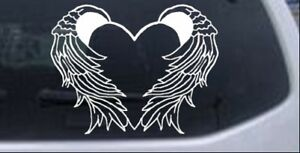 Heart With Wings Decal Car Or Truck Window Laptop Decal Sticker